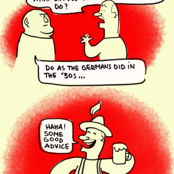 crisis greece germany cartoon do like the germans