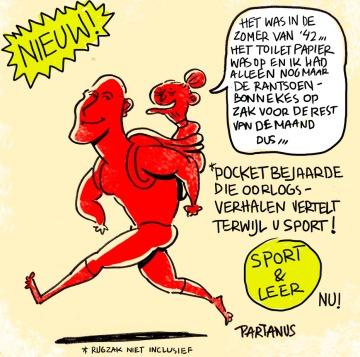 pocket bejaarde tweede wereldoorlog verhalen cartoon