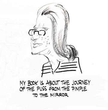 pimple cartoon writer