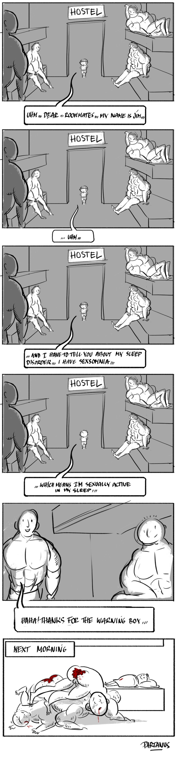 hostel, sex, sexsomnia, sleep disorder, dorm